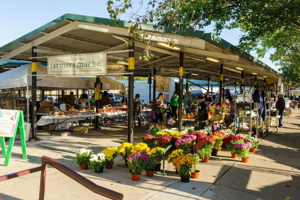 Kerrytown Farmers Market Ann Arbor MI