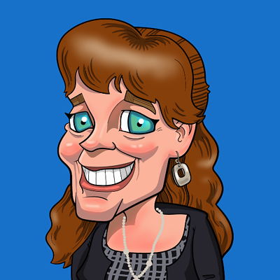 Michelle Caricature