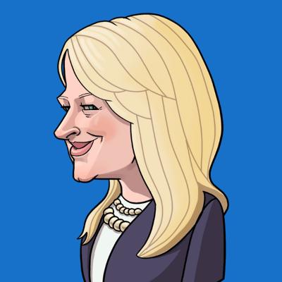 Gwenn Buschell Caricature